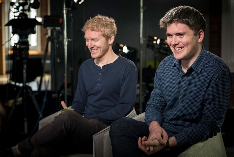 Brothers Patrick and John Collison, aged 32 and 30, are multibillionaires, at least on paper, and are the talk of Silicon Valley