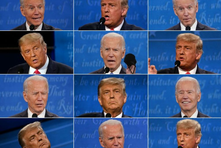 As Donald Trump and Joe Biden battle it out to become US president, election night has the potential to become election week or even month. Picture: Getty