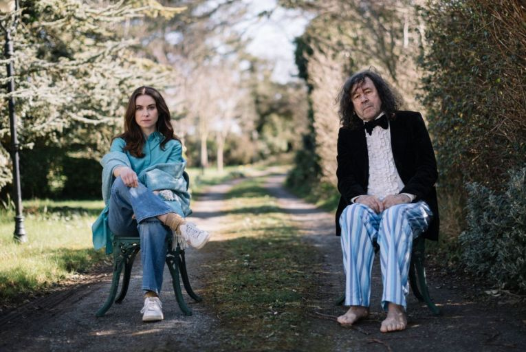 Judith Roddy and Stephen Rea perform The Visiting Hour which will be streamed to audiences this week. Picture: Rich Gilligan