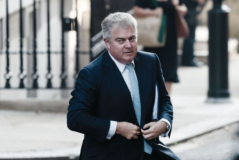 Brandon Lewis: the British government is proposing a truth recovery process and oral history project. Picture: Getty