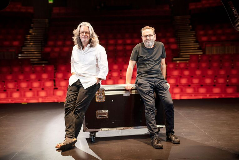 Graham McLaren and Neil Murray, joint directors of the Abbey Theatre. Picture: Fergal Phillips.