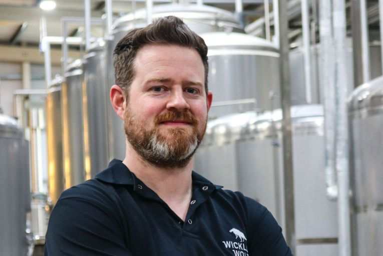John Allen, head brewer at Wicklow Wolf: 'We have always been fans of barrel ageing beers and the wide range of flavours it presents'