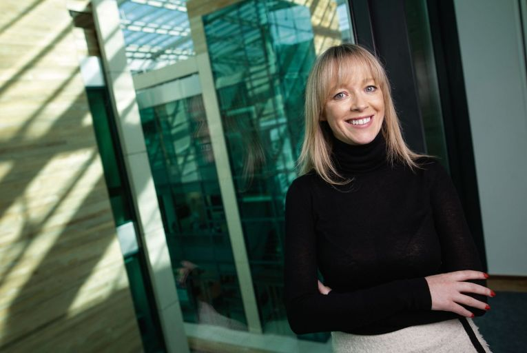 Mary O'Brien, co-founder of former Irish medtech company Videodoc is working with the AiPharma and is relocating from Dubai to Dublin to be part of the team here. Picture: Fergal Phillips