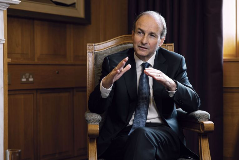 Micheál Martin said the government's National Economic Plan was being worked on by the cabinet sub-committee on economic recovery