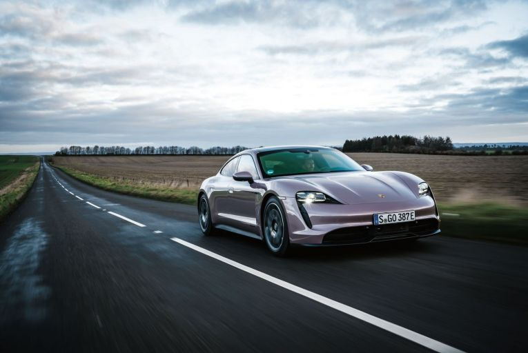 The Porsche Taycan follows on from the high-performance Turbo and Turbo S derivatives