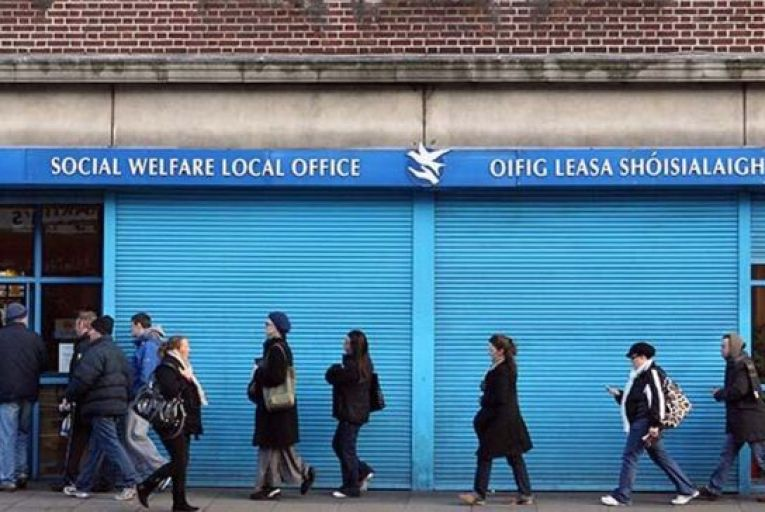 Over three quarters of a million people are still relying on some form of employment-related payments from government