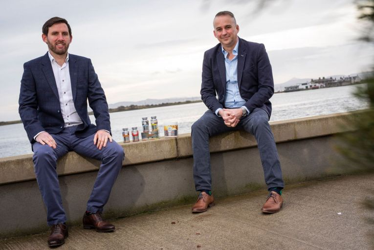 Luke Teeling and Damien Lynch, co-founders of Every Body Health. Picture: Fergal Phillips