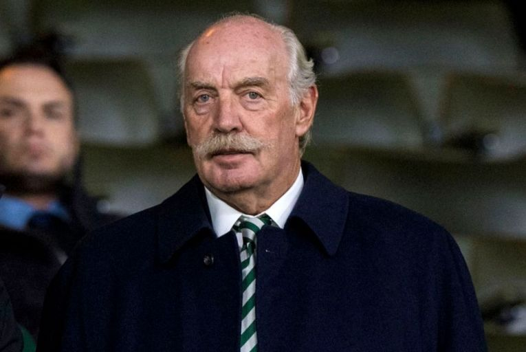 Dermot Desmond, right, owns 32 per cent of Mountain Province's shares.  Last year he struck a deal with the company to buy $100 million worth of its diamonds. Picture: Getty