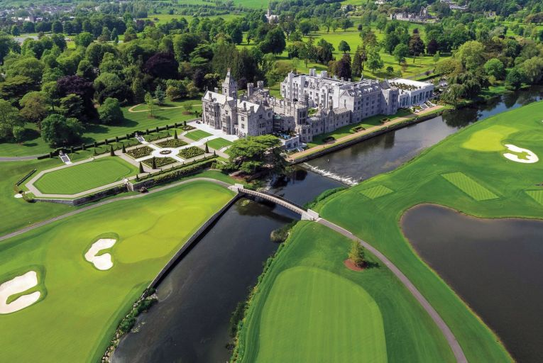 Adare Manor and its Michelin-starred Oak Room in Co Limerick
