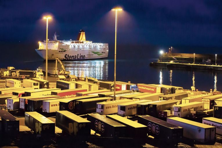 Rosslare Port: still not fully owned by the state Picture: Patrick Browne