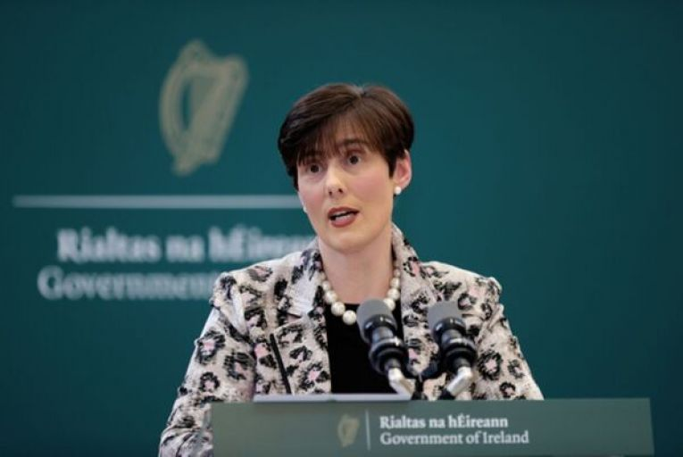 Norma Foley, the Minister for Education, issued a hard-hitting statement attacking the INTO and Forsa. Picture: Rollingnews.ie