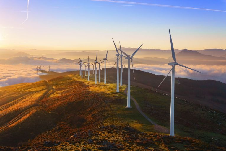 'Europe must builds upon the hard-won lead it has established in industries like wind turbine manufacturing'. Picture: Getty