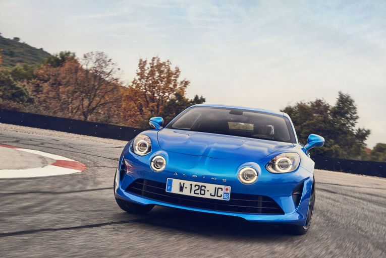 On the marque: Renault's Team Alpine is getting in gear for a future of sporty top performers