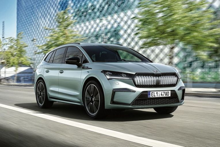 The Enyaq is a mid-size SUV that is slightly shorter than the latest Octavia hatchback, but has interior space that is more in line with the range-topping Skoda Kodiaq