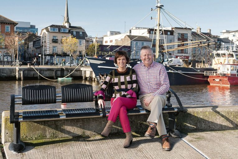 Harry Harte, managing director of Hartecaste Street Furniture, and his wife Anita