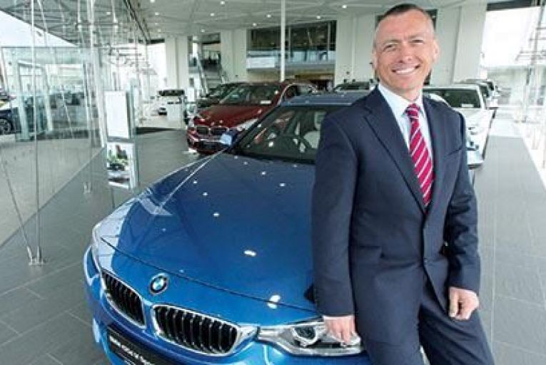 Mark Bradley, head of business at Frank Keane BMWFergal Phillips