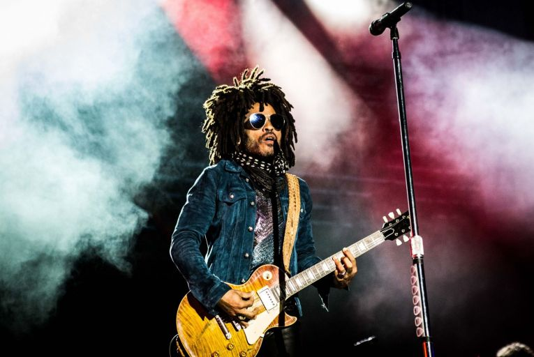 Lenny Kravitz has had a remarkable life but it too often reads here like a folksy tale or an exceptionally long interview. Picture: Getty