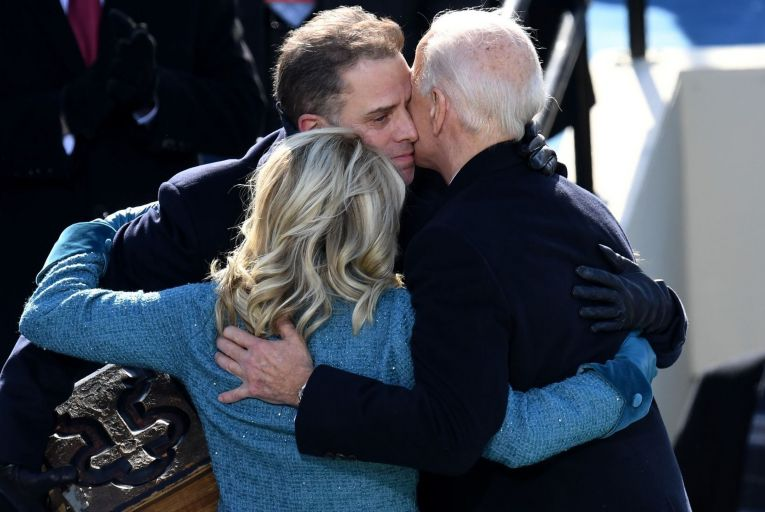 Hunter Biden has published a memoir, Beautiful Things, in which he writes about his long-running struggle with drinks and drugs. Picture: Oliver Douliery/AFP/Getty