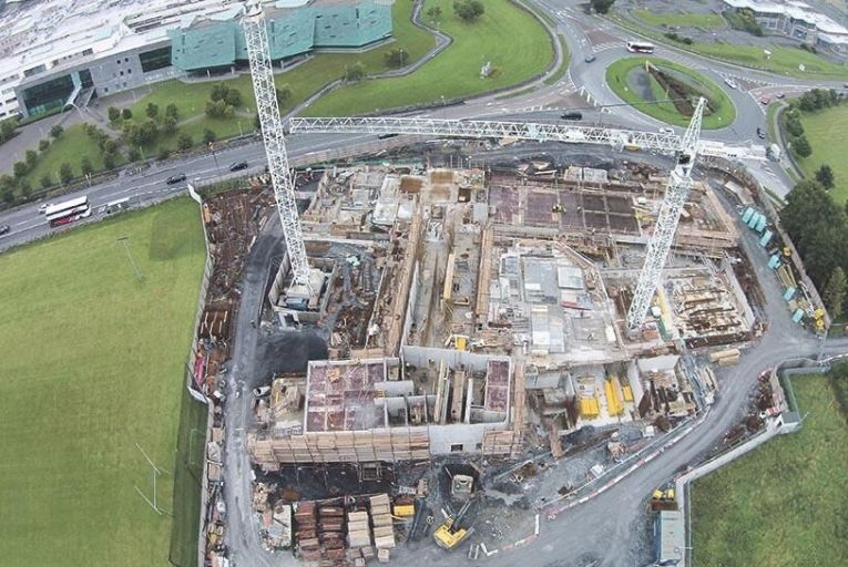 JJ Rhatigan & Co has begun  work on the new Garda  regional and divisional  headquarters in Galway city