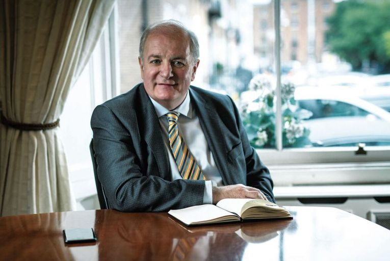 Gavin Duffy, the businessman and former presidential candidate, said he had no choice but to issue a plenary summons to Facebook. Picture: Fergal Phillips