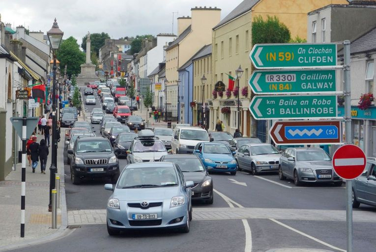 Westport, above, followed the lead of Clonakilty and Kinsale in hiring a town architect. Picture: Getty