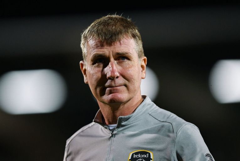 Stephen Kenny believes in the potential of Irish football like Brian Kerr and Liam Touhy did before him and must be treated better than they were. Picture: Sportsfile