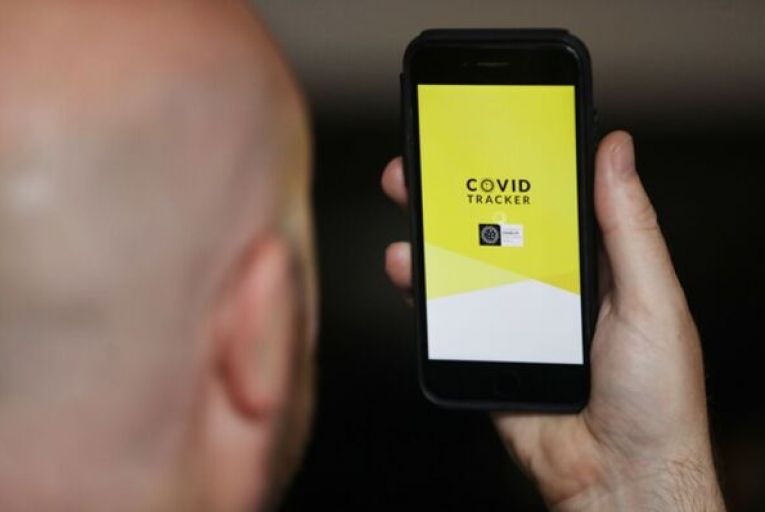 The HSE's Covid Tracker App will be used to story Digital Covid Certificates. Picture: Leah Farrell/Rollingnews.ie