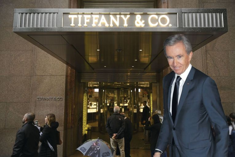 Bernard Arnault, owner and chief executive of LVMH Luxury Group Picture: Getty