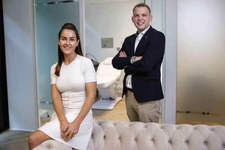 Altona Myers and Ross Tracy, the husband and wife team, established Facial Rejuve in 2018. Picture: Fergal Phillips