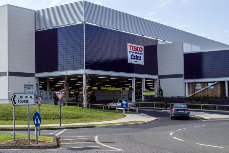 Tesco sales grew 13.7 per cent in Ireland last year due to growth in large stores and a capacity increase of 60 per cent for home deliveries. Picture: Getty