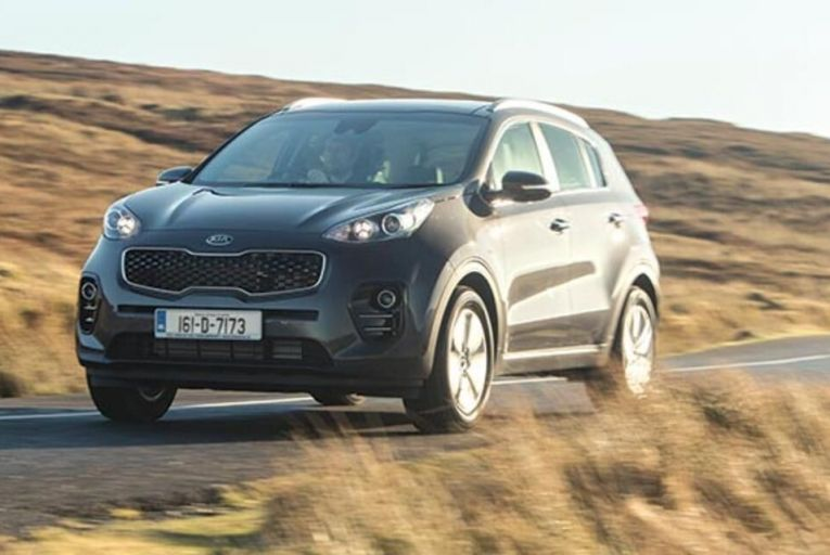 The new Kia Sportage: the mid-level EX model has a high standard of specification