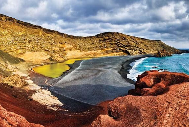 Charco de Los Clicos on the volcanic island of Lanzarote. Picture: Getty