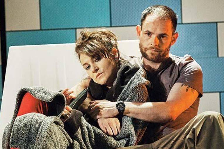 Kerri Quinn and Andy Kellegher in Shibboleth