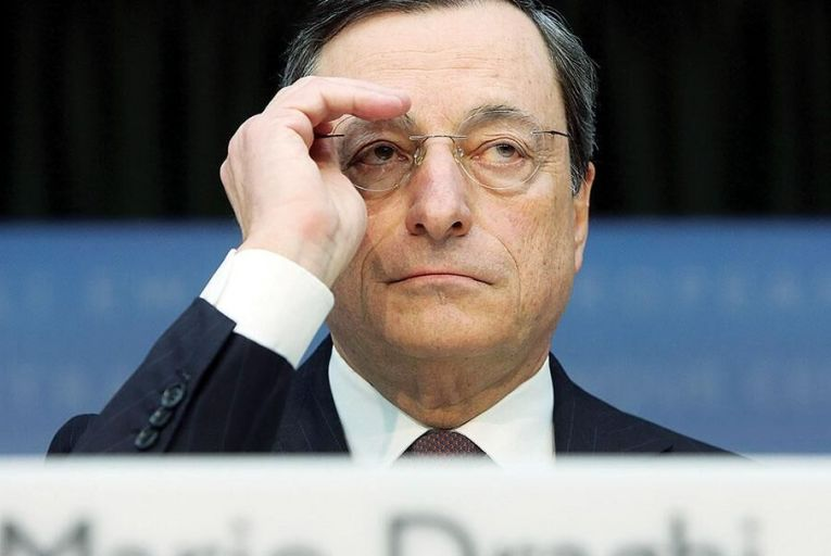 ECB President Marion Draghi Pic: Getty