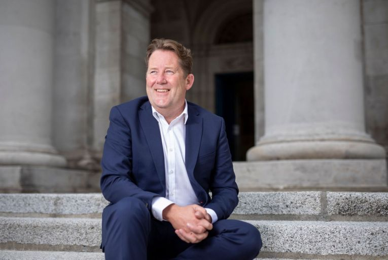 Darragh O\'Brien, Minister for Housing, fears that bringing in the 'use it or lose it' rule could damage the supply of housing in the midst of the pandemic. Picture: Fergal Phillips
