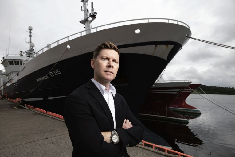 Karl McHugh: the chief executive of the Atlantic Dawn group says that 'we're going to try and weather the storm. We have the motivation and enthusiasm and the commitment to keep going'. Picture: Joe Dunne