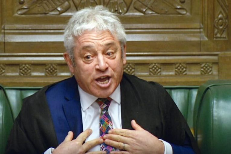 John Bercow: the speaker of the House of Commons ruled that Theresa May could not put her deal to parliament for a third time