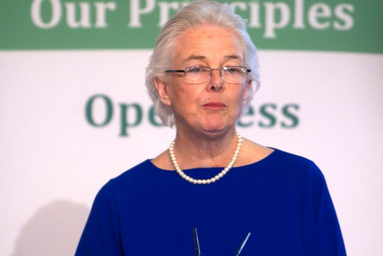 Catherine Day, Chairperson of the Citizen's Assembly Pic: Rollingnews.ie