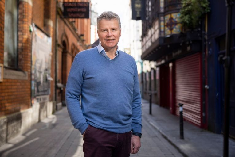 Ian Duffy, chief executive of Accelerated Payments: 'We love Irish companies that are trying to export and grow their business internationally, and we want to support them.' Picture: Fergal Phillips