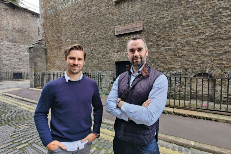 Conor O'Toole and Patrick Garry, co-founders of LoyLap: 'The change in consumer behaviour isn't likely to regress any time soon.'