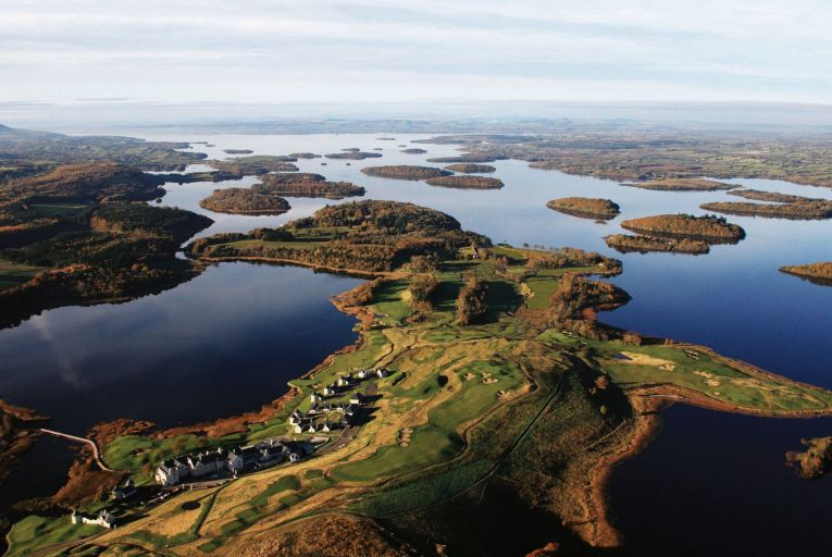 The Lough Erne resort and golf course on a 600-acre peninsula in Co Fermanagh