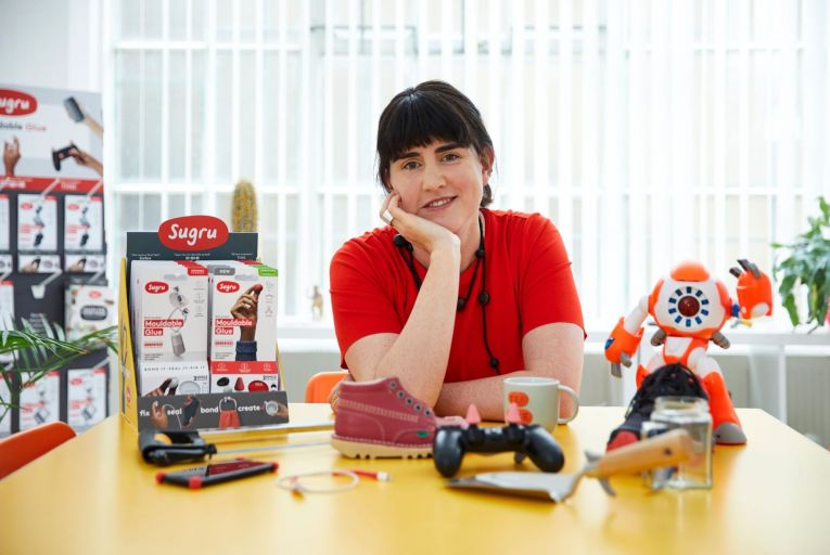 Jane Ní Dhulchaointigh founded Sugru in 2004 with James Carrigan and Roger Ashby