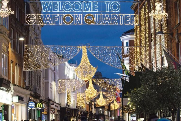 Business group Dublin Town's moved to rebrand the Grafton Street area as 'Grafton Quarter' – following the attempt to name an area of the south docklands 'SOBO' in 2015 that appears to have been quietly dropped since Pic: Fergal Phillips