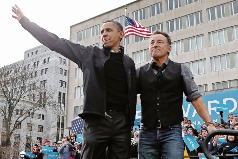 Barack Obama and Bruce Springsteen have joined forces to launch a podcast