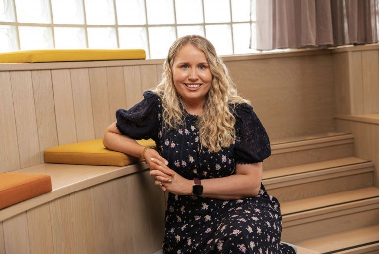 Danielle Healy, sales director for Glandore in Cork,  says flexible workspace can provide the perfect environment for hybrid working. Picture: John Allen