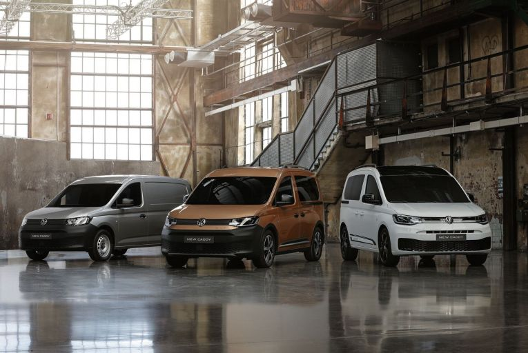 The Volkswagen Caddy 5 retains the familiar practical silhouette, but has an image led more by design