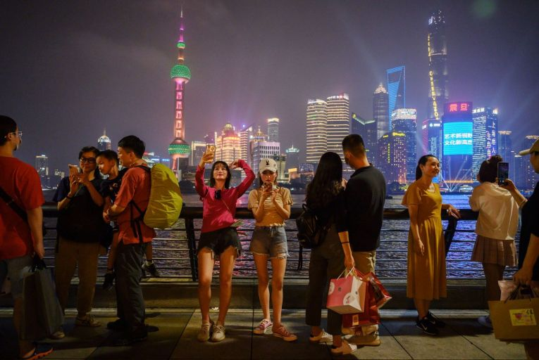 Shanghai, where the stock market debut of Ant Group next week will be another milestone in the shift of power from the US to China
