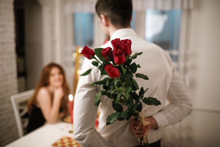 Do you know how much your Valentine's Day bouquet cost – and would you want to? Picture: Getty