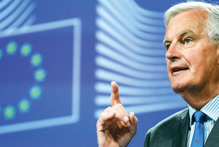 Michel Barnier, chief  negotiator for the EU  Picture: Bloomberg