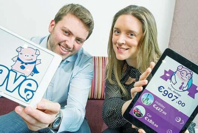 Shane and Ciara O\'Brien, founders of iSave Picture: Barry Cronin